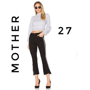 Mother Insider Crop Step Fray Guilty Racer
